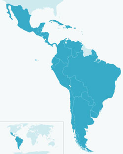 cloud computing and high performance conections for Latin America...